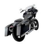 Cycle Visions Bagger Tail Saddlebag Mount For Harley Dyna 2006-2015 Black [Previously Installed]