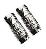 Eddie Trotta Platinum Cut Fork Slider Covers For Harley Touring 2014-2017