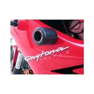 R&G Racing Frame Sliders Triumph Daytona 675/R 2006-2012 Black [Open Box]