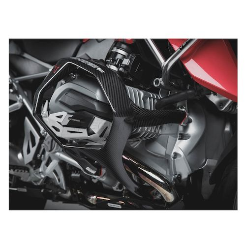 sw motech carbon fiber crash bars bmw r1200r rs 2013 2017. Black Bedroom Furniture Sets. Home Design Ideas