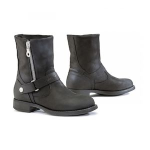 Womens Leather Motorcycle Boots