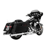 "Vance & Hines Eliminator 4"" Slip-On Mufflers For Harley Touring 1995-2016"