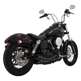 Vance & Hines UpSweep 2-Into-1 Exhaust For Harley Dyna 2006-2017
