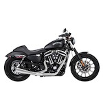 Vance & Hines UpSweep 2-Into-1 Exhaust For Harley