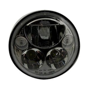 "Custom Dynamics 5 3/4"" LED TruBeam Headlight Insert For Harley"