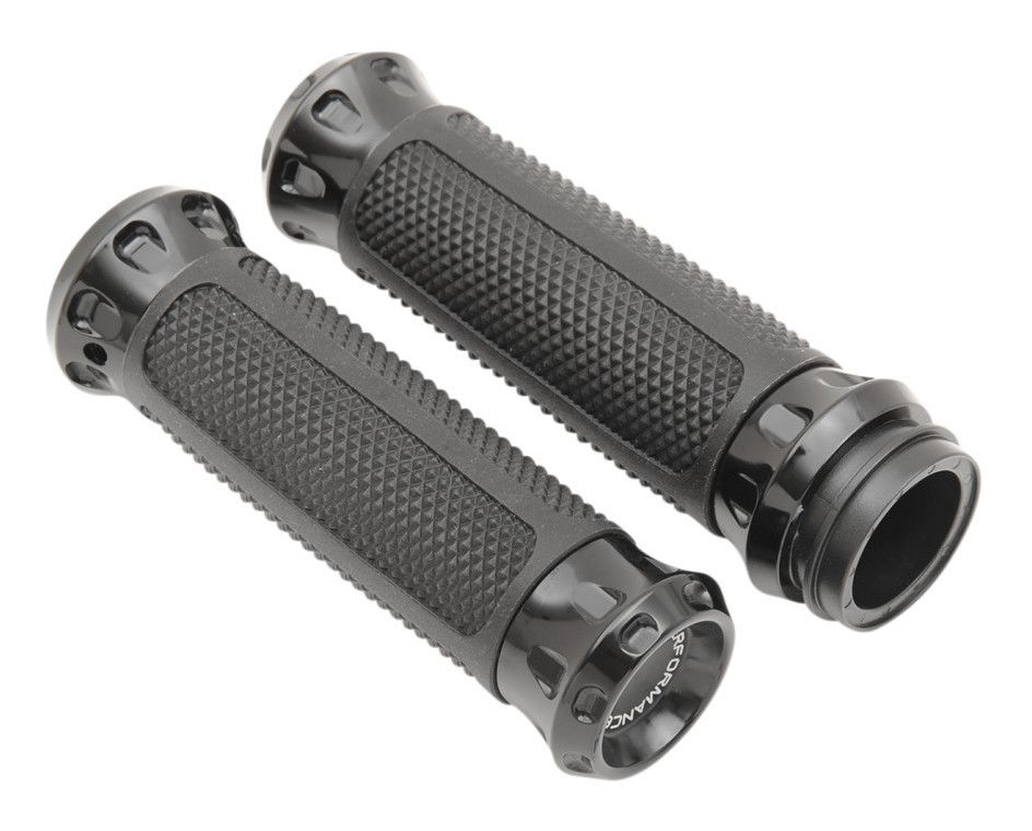 Performance Machine Overdrive Grips For Harley Fly