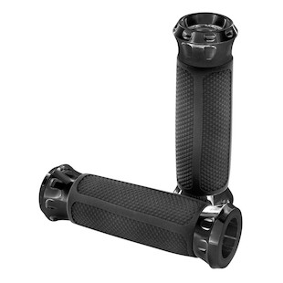 Performance Machine Overdrive Grips For Harley With Dual Cable Throttle