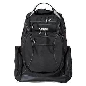 OFFICIALLY LICENSED BACKPACK ROCKSTAR NYLON PADDED LAPTOP POUCH 18-88698...