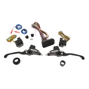 Performance Machine Hand Control Set For Harley Touring  2014-2016