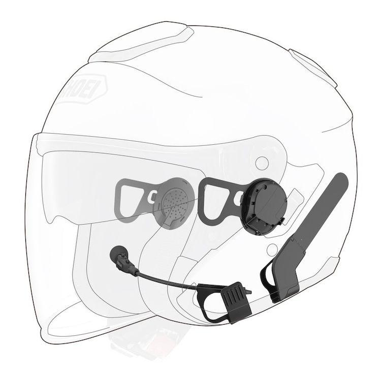 Sena 10U Bluetooth Headset For Shoei J-Cruise