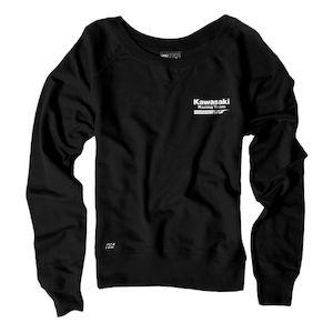Factory Effex Kawasaki Women's Crew Sweatshirt