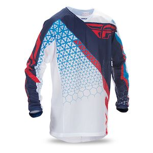 Fly Racing Youth Kinetic Trifecta Mesh Jersey