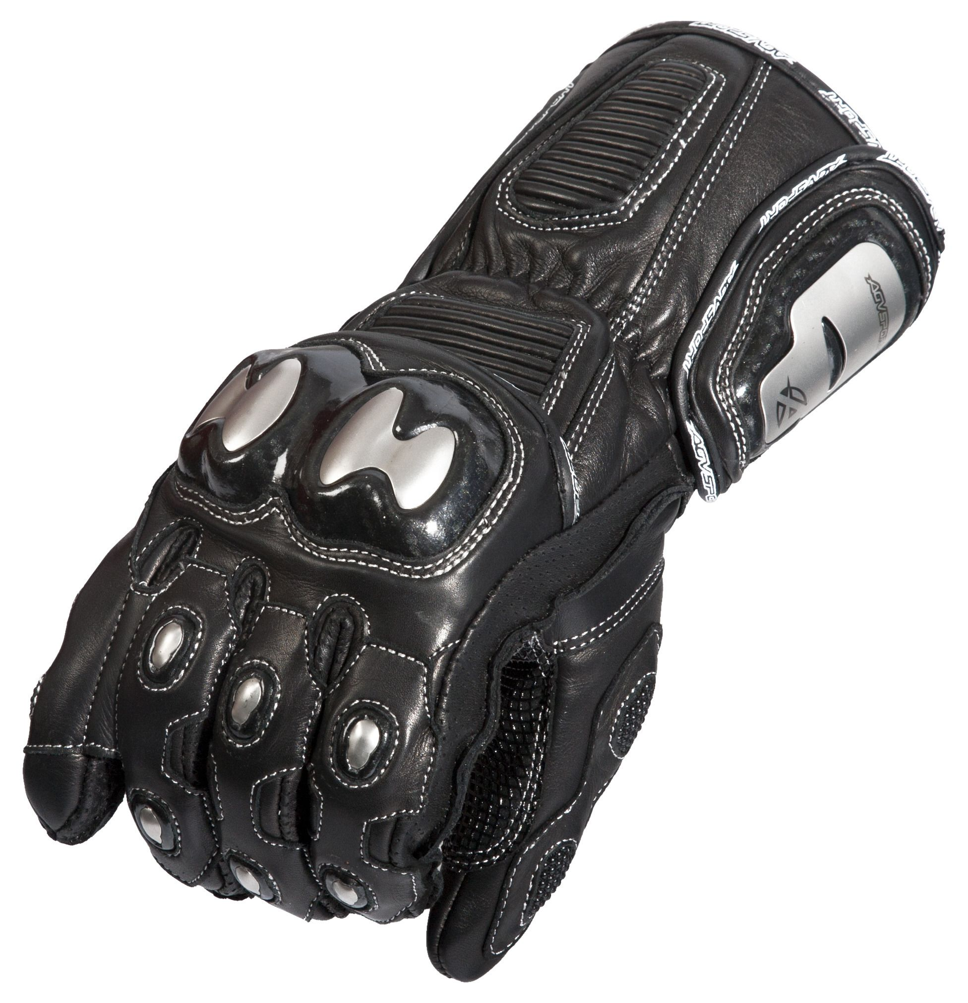 Motorcycle gloves double cuff - Motorcycle Gloves Double Cuff 15