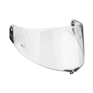 AGV Corsa / Pista GP / GT Veloce Race Face Shield With Tear-Off Posts Clear [Previously Installed]