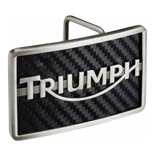 Triumph Carbon Logo Belt Buckle