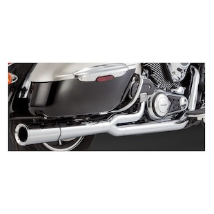 Vance & Hines Pro Pipe Chrome Exhaust  Nomad / Vaquero / Voyager VN1700 2009-2014 [Previously Installed]