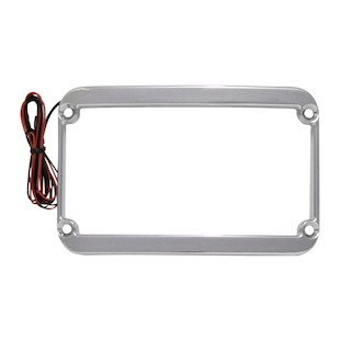 Klock Werks LED License Plate Frame For Harley Touring 1997-2008