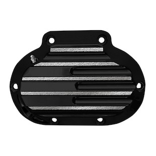 Covingtons Finned Transmission Side Cover For Harley 2007-2015 Black / Hydraulic Clutch [Open Box]
