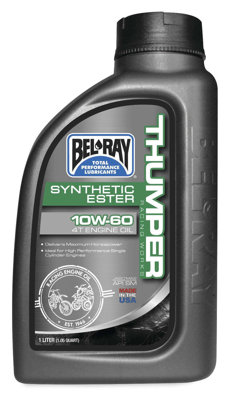 Bel ray thumper racing works synthetic ester 4t engine oil for How does motor oil work