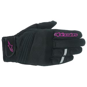 Alpinestars Stella Asama Air Gloves Black/Pink / SM [Demo - Good]