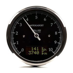 Motogadget Chronoclassic DarkEdition Tachometer