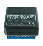 Motogadget Motoscope Pro Breakout Box J1850 For Harley-Davidson Twincam Engines 2004-2016