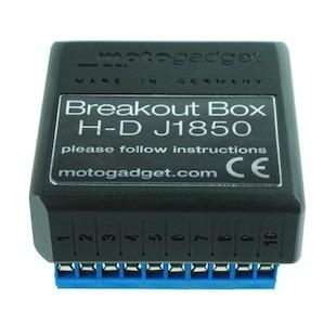 Motogadget Motoscope Pro Breakout Box J1850 For Harley-Davidson V-Rod
