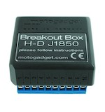 Motogadget Motoscope Pro Breakout Box J1850 For Harley-Davidson V-Rod