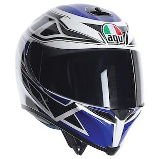 AGV K5 Diapason Helmet Blue / MS [Blemished - Very Good]