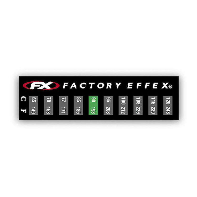Factory Effex Temperature Stickers