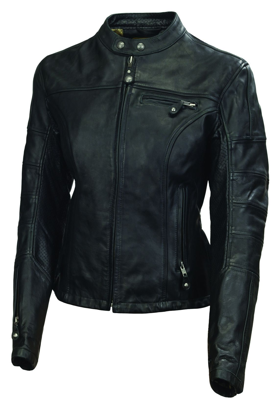 Home > Women > Leather Jackets - Women's > Motorcycle Jackets - Women's Premium collection of women's leather motorcycle jackets ideal for the biker that don't want just a look. Protection and style are also important.