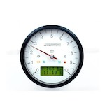Motogadget Motoscope Classic Tachometer and m-TRI Signal Adapter Triumph Bonneville 2012