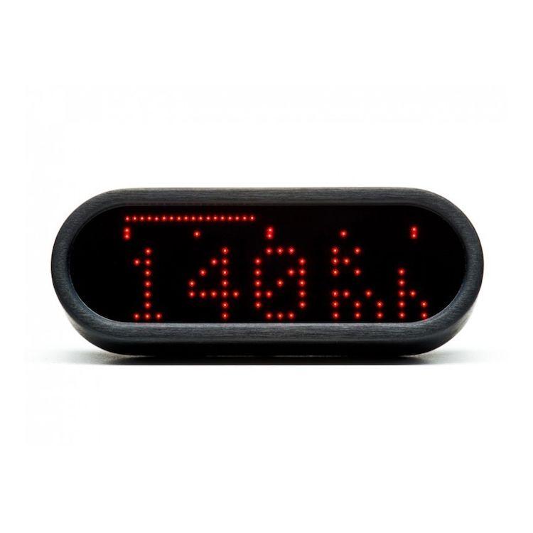 Motogadget Motoscope Mini Speedometer and m-TRI Signal Adapter Triumph Thruxton 2012