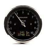 Motogadget Chronoclassic DarkEdition Tachometer and m-TRI Signal Adapter Triumph Thruxton 2015