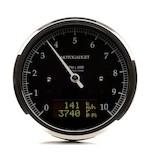 Motogadget Chronoclassic DarkEdition Tachometer and m-TRI Signal Adapter Triumph Scrambler 2014