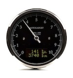 Motogadget Chronoclassic DarkEdition Tachometer and m-TRI Signal Adapter Triumph Bonneville T100/SE 2015
