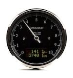 Motogadget Chronoclassic DarkEdition Tachometer and m-TRI Signal Adapter Triumph Scrambler 2015