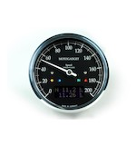 Motogadget Chronoclassic DarkEdition Speedometer and m-TRI Signal Adapter Triumph Scrambler 2015