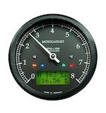Motogadget Chronoclassic Tachometer and m-TRI Signal Adapter Triumph Scrambler 2012