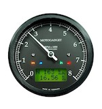 Motogadget Chronoclassic Tachometer and m-TRI Signal Adapter Triumph Scrambler 2014