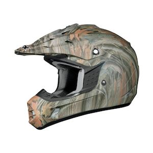 AFX Youth FX-17Y Wood Camo Helmet