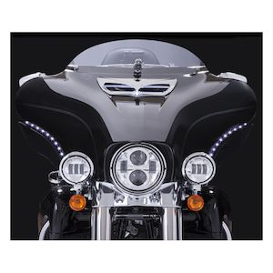Ciro LED Bat Blades For Harley Touring 2014-2018