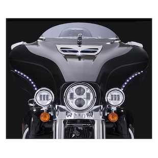 Ciro LED Bat Blades For Harley Touring 2014-2017