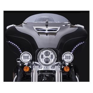 Ciro LED Bat Blades For Harley Touring 1996-2005