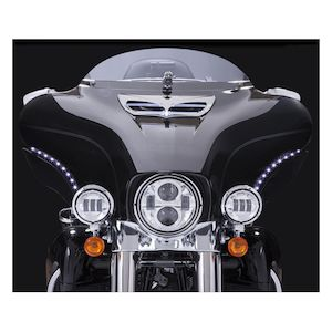 Ciro LED Bat Blades For Harley Touring