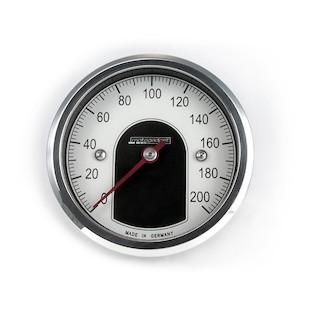 Motogadget Motoscope Tiny Speedometer and m-TRI Signal Adapter Triumph Scrambler 2011