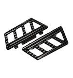 Misfit Industries Ambush Passenger Floorboards For Harley 1984-2016