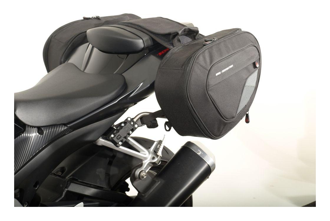 Sw Motech Blaze Saddlebag System Suzuki Gsxr600 Gsxr750 Gsxr1000 Timing Belt 07 Gsxr Revzilla