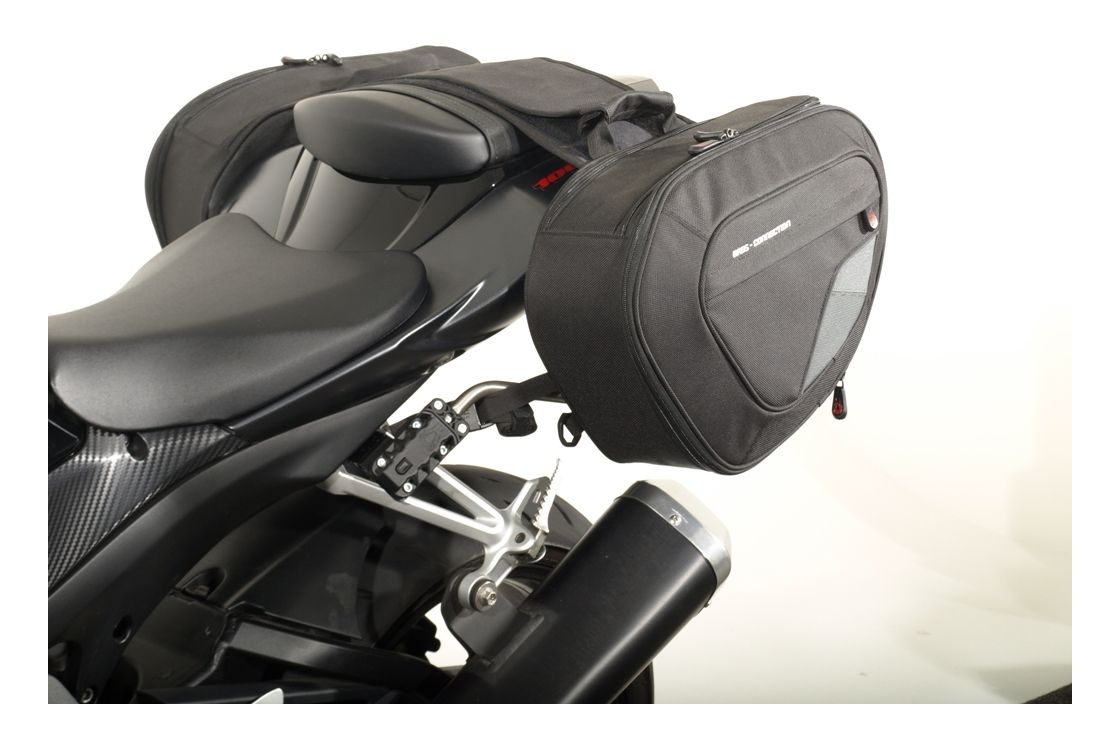 SW-MOTECH Blaze Saddlebag System Suzuki GSXR600 / GSXR750 / GSXR1000 | 15%  ($67.93) Off! - RevZilla
