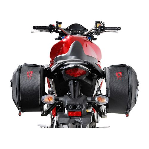 sw motech blaze saddlebag system honda cb1000r 2008 2016 revzilla. Black Bedroom Furniture Sets. Home Design Ideas